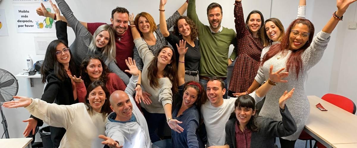 Enthousiaste native docenten